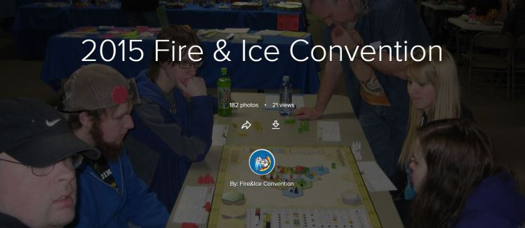 2015 Fire & Ice Convention Album Cover
