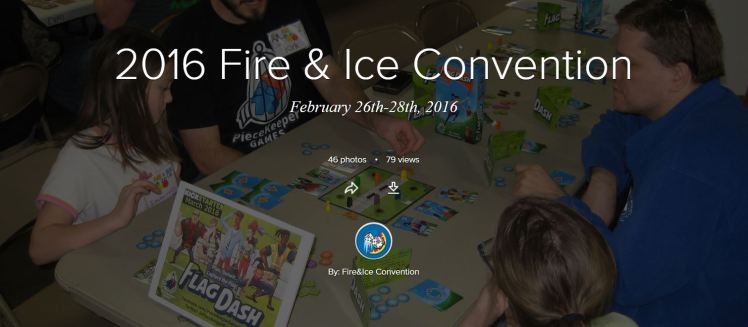 2016 Fire & Ice Convention Album Cover