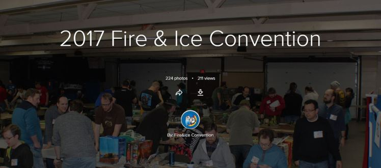 2017 Fire & Ice Convention Album Cover